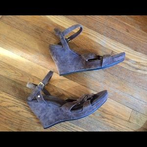 Ugg Suede Wedges